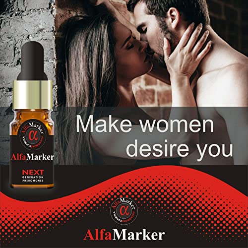 Alfamaker Pheromone Perfume for Men with High Concentrated Formula