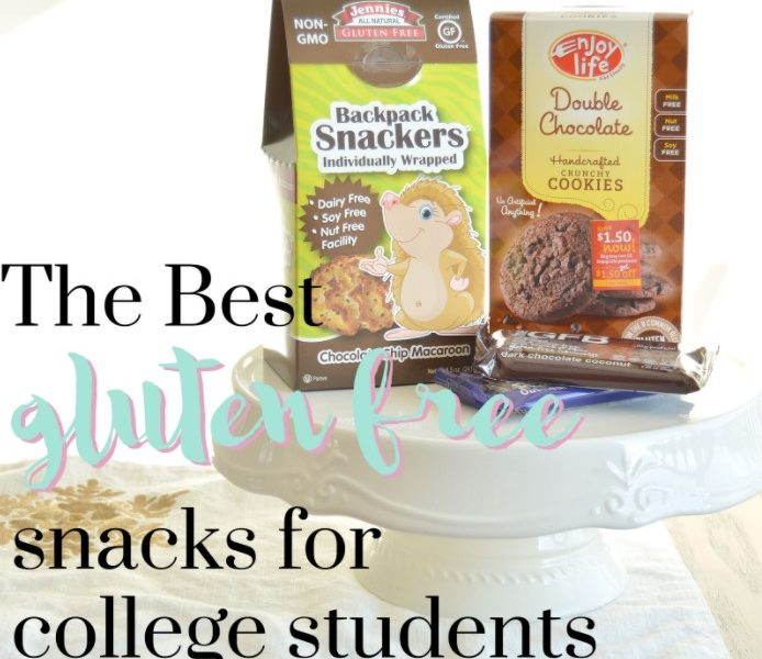 The Best Gluten-Free Snacks for College Students